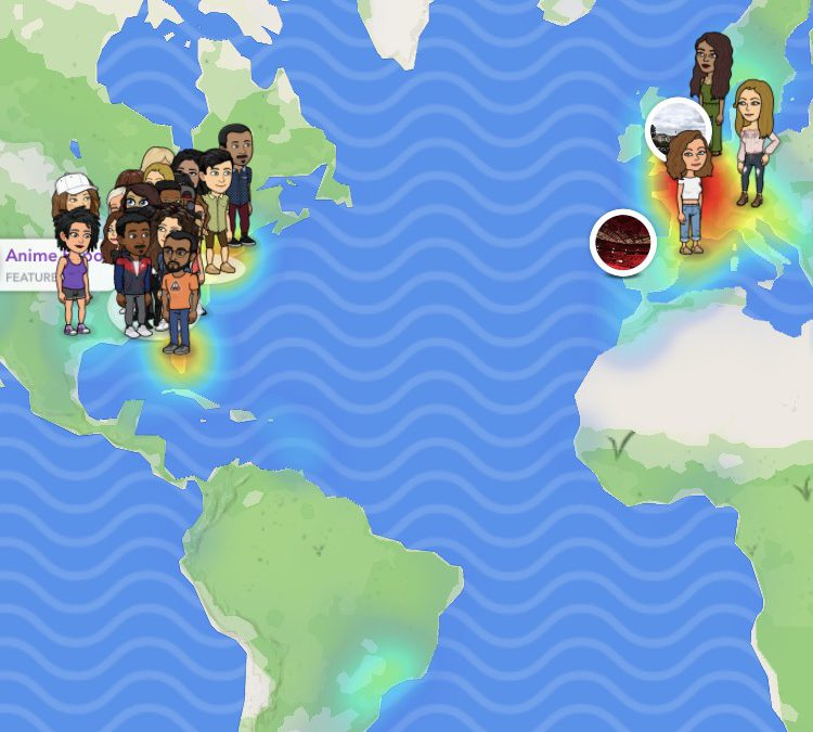 The Dangers of Snap Map on Snapchat